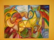 tableau : Rêves de chevaux