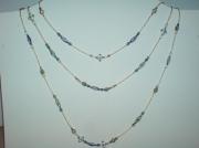 bijoux collier asie dore perles : Collier perles cloisonnées