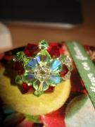 bijoux fruits grenade vert pomme cristal : fRuItY GaRdEN