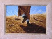 tableau personnages : Marche dans le désert