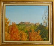 tableau paysages : Upaix en haute Provence