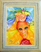 tableau personnages venise masque venise festival venise masques venitens : Carnaval