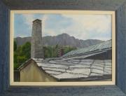 tableau : Les toits de saint Veran