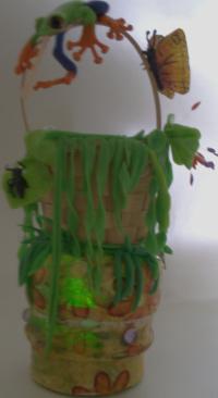 Veilleuse grenouille amazonienne haute en couleurs