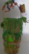 deco design animaux veilleuse modelage grenouille deco : Veilleuse grenouille amazonienne haute en couleurs