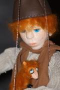 deco design personnages marionnette personnage sculpture art : Gael la marionnette