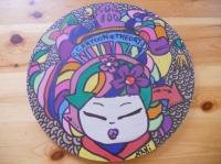la geisha de cartoon