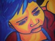 painting personnages : Portrait