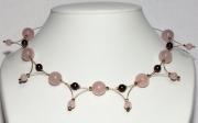 bijoux : Variations en Quartz rose