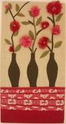 deco design : Bouquet rose et rouge