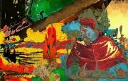 tableau personnages venise : Base rouge Venice 1