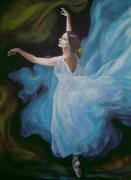 tableau personnages dansedanceantilles caraibesexpressionn peinturespeintrear evasionexotisme : Sylphide