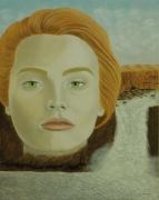 tableau personnages surrealisme realisme figuratif nature : Cataracte Catabolique