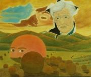 tableau paysages surrealisme realisme figuratif nature : Géochronologie Psychosomatique Chronique