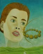 tableau personnages surrealisme realisme nature figuratif : Astigmatisme Psychodramatique