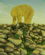 tableau animaux surrealisme realisme animalier nature : S.O.S