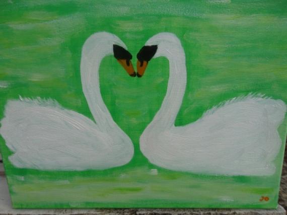 TABLEAU PEINTURE Animaux Peinture a l'huile  - FIDELITE