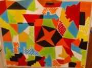 tableau abstrait : JOIE LANDAISE