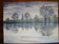 Les reflets dans l'eau