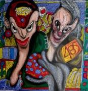tableau personnages contorsions 485 russo tours : Contorsions 485
