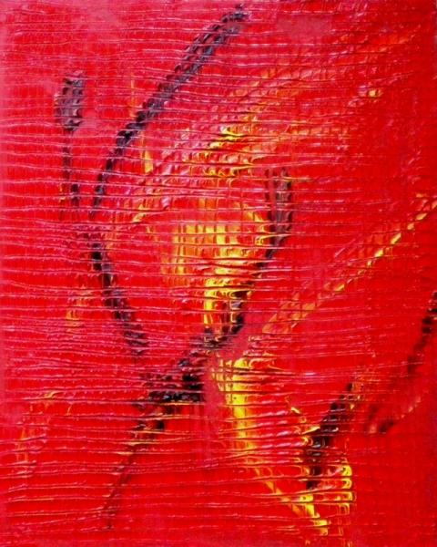 TABLEAU PEINTURE Abstrait Peinture a l'huile  - Tango