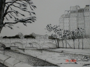 tableau villes : Le Pont Neuf - Paris