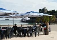 bar de la plage de Dinard