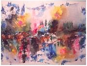 tableau exposition peintures du 18 avril au 8 mai langdonart montreal : peinture Langdonart 4saisonsVu1sur2