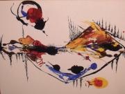 tableau autres langdonart peinture exposition galerie le 1040 : Langdonart peinture tortue histoire 1