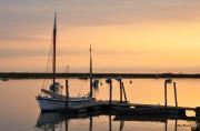 photo marine ports bateaux aube marine : vieux gréement au ponton