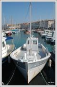photo marine ile de re bateaux : le bateau blanc