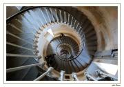 photo architecture ile de re phares escaliers : dans le ventre des Baleines