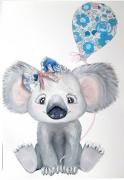 tableau animaux koala liberty enfant bebe : Bébé Koala Liberty