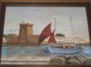 tableau marine : Les  Sables  d'Olonne