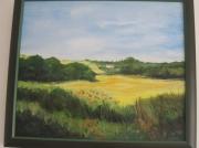 tableau paysages : les  blés
