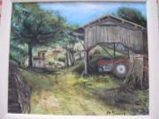 tableau paysages : le  hangar