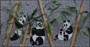 tableau animaux : Famille panda