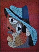 tableau personnages : l'homme au chapeau