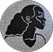 tableau personnages : Jeune femme africaine