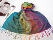 art textile mode autres pareo bali vert multicolore : Tendance été 2014 / Très joli Paréo multicolore en fibre style P
