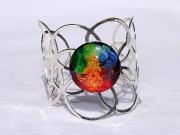 bijoux abstrait bracelet argent multicolore moderne : Très Joli Bracelet Tendance 2014  Sérinity