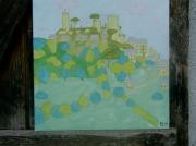 tableau paysages chateau de turenne paysage : le chateau de turenne