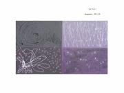 tableau abstrait violet : JE TU IL