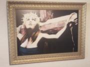 tableau femme : femme crucifiée