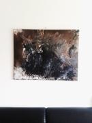 tableau abstrait abstrait contemporain art moderne : Ocean Life
