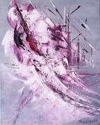 tableau autres art contemporain abstrait marine edwige lefevre : Voilure  les sulfureuses