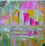 tableau autres art contemporain abstrait marine cont creation edwige lefe art original peintur : Cité de la voile TABARLY Lorient