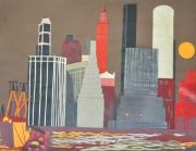 mixte villes collage manhattan port : Manhattan