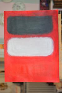 le rouge , le noir et le blanc