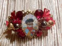 bracelet baroque avec chat tsar